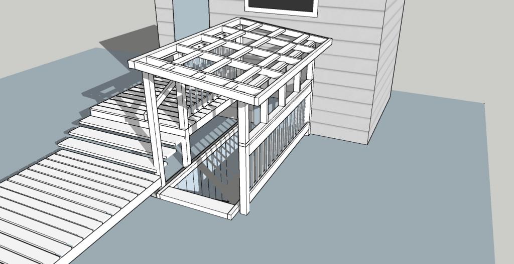 Hacking the Deck, Basement Enhancement Project